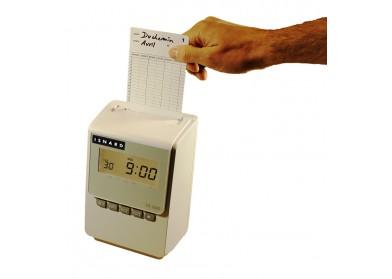 Pointeuse à fiche cartonnée ER 1600 : Totalisation jour