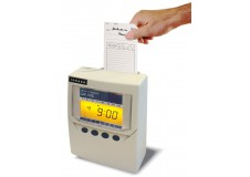 Pointeuse à fiche cartonnée QR 395 : Multi-Fonction