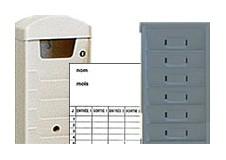 Accessoires et consommables pour pointeuses à fiches cartonnées