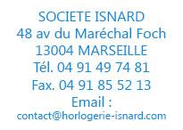 Société ISNARD - Horlogerie et Gestion des Temps ISNARD